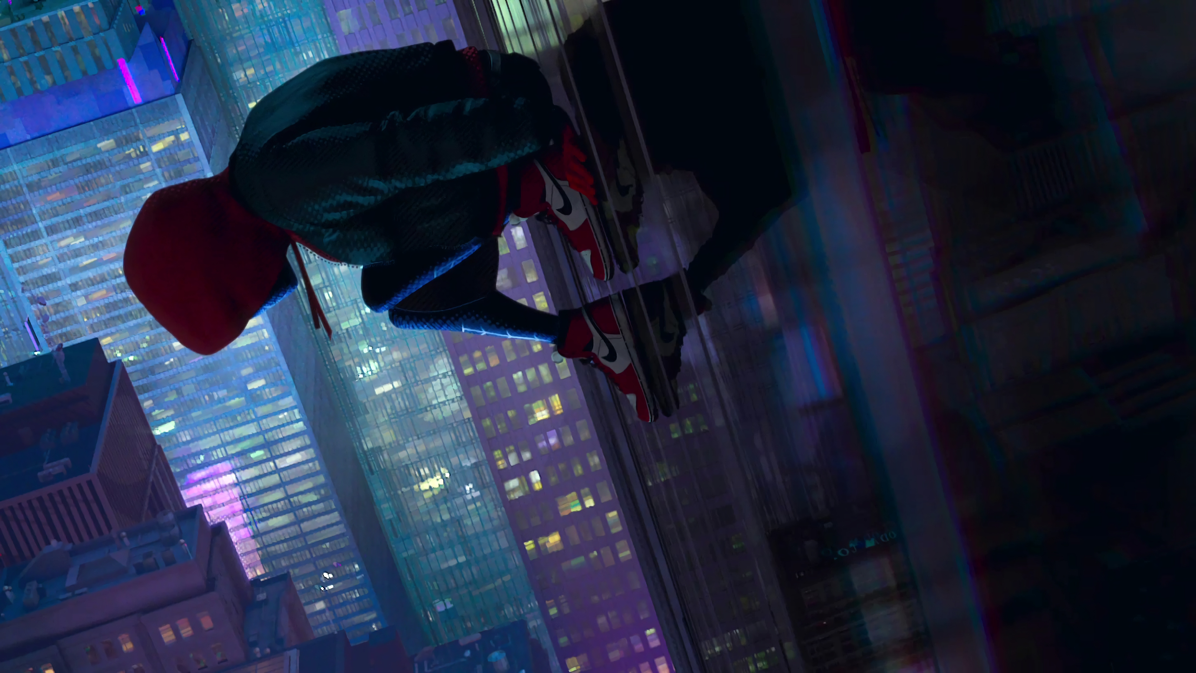 Into The Spider Verse X Wallpaper Iwallpaper: Spider-Man: Into The Spider-Verse 4k Ultra HD Wallpaper