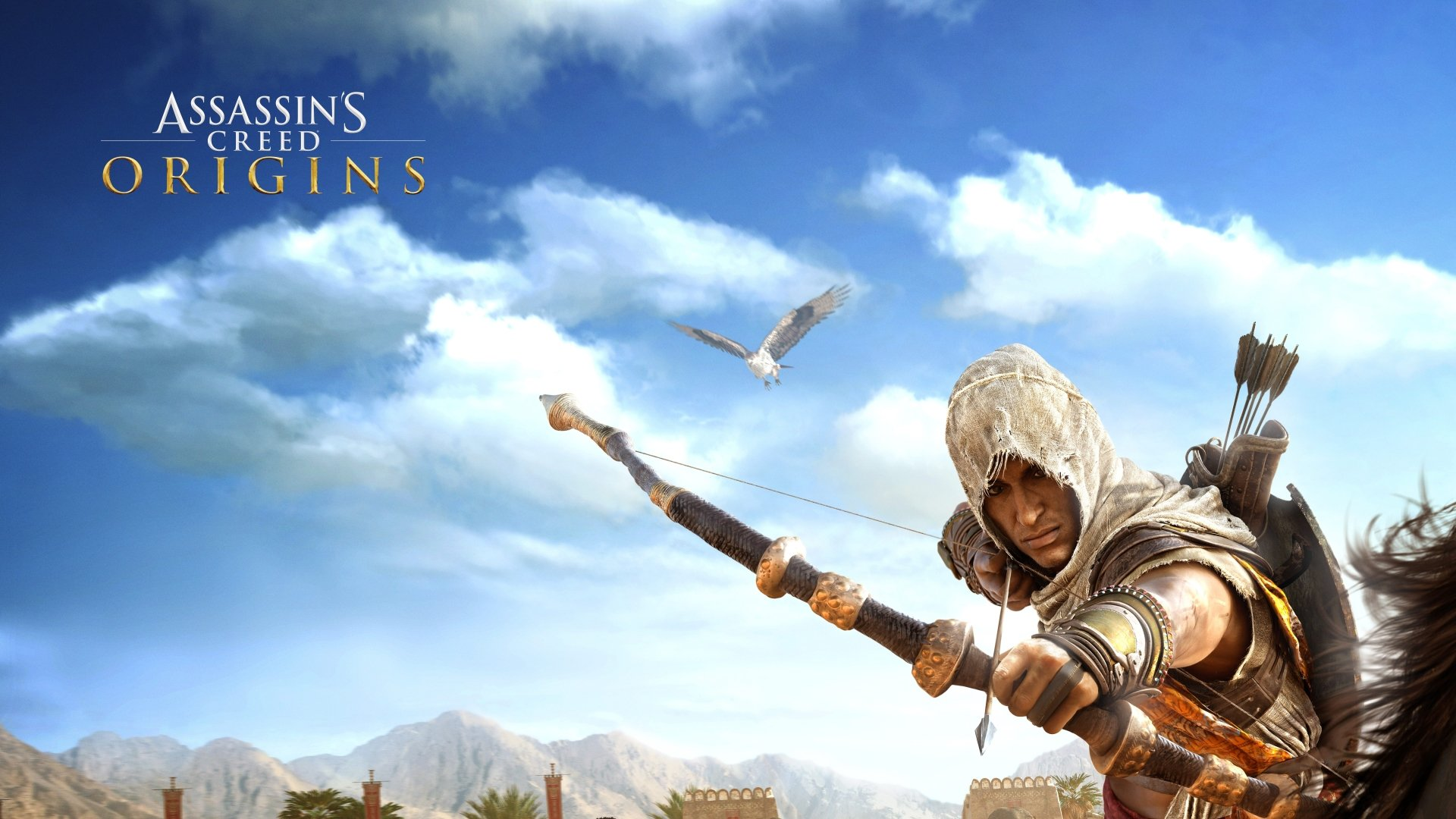 Assassin's Creed Origins Bayek Of Siwa Wallpaper HD 4k