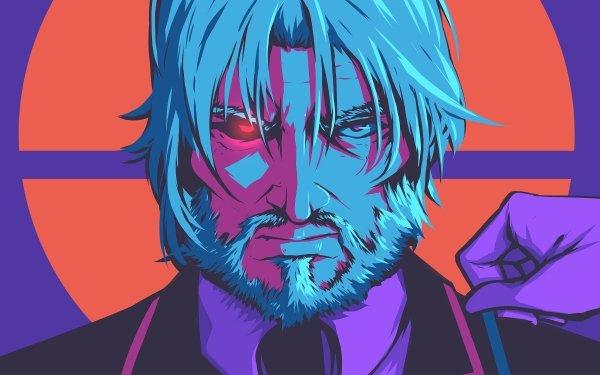Anime Overlord Sebas Tian Angry White Hair HD Wallpaper | Background Image