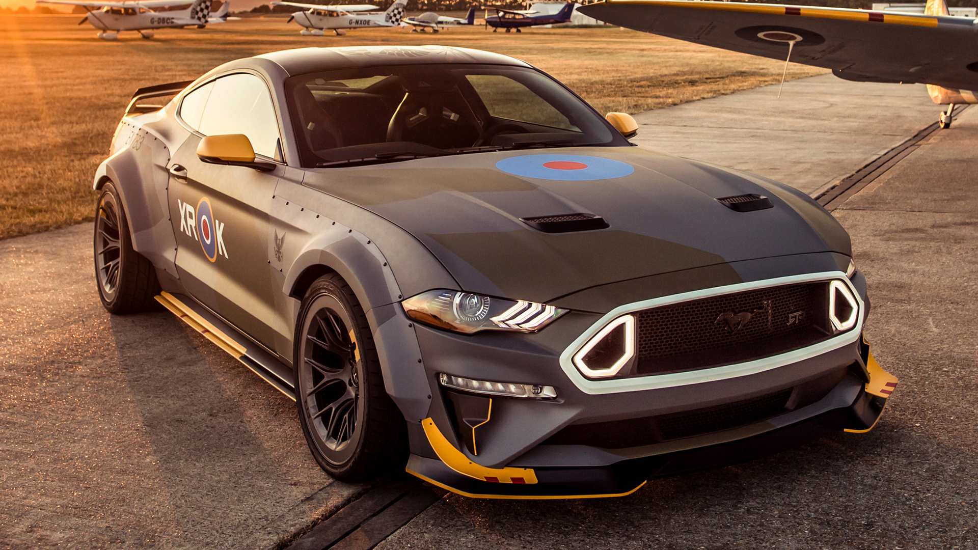 Wallpaper Ford Mustang 2018 Hd Automotive Cars 5863: 2018 Ford Eagle Squadron Mustang GT HD Wallpaper