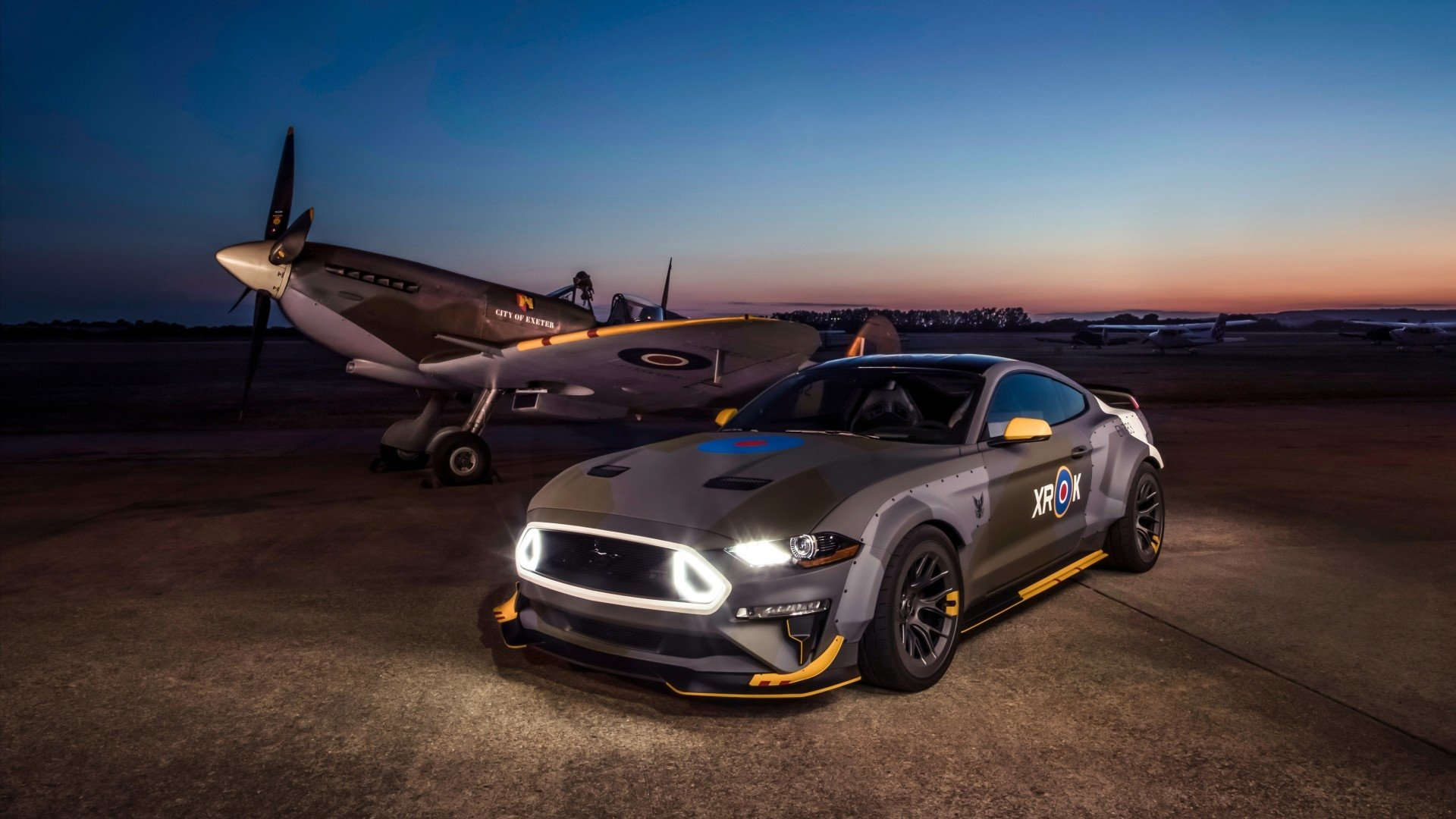 Vehicles - Ford Eagle Squadron Mustang GT  Muscle Car Car Wallpaper