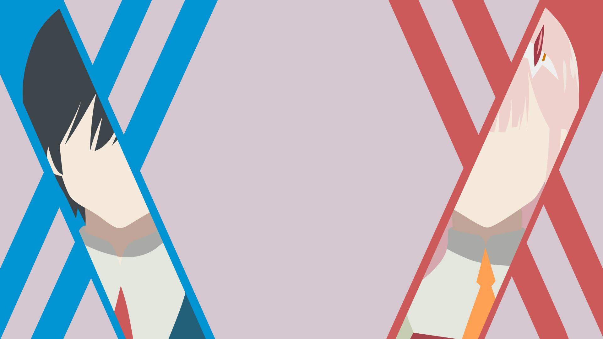 Hiro and Zero Two (Darling in the FranXX) HD Wallpaper ...
