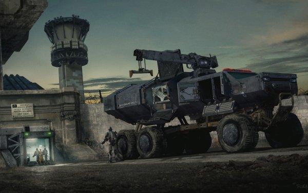 Sci Fi Vehicle Prison HD Wallpaper   Background Image