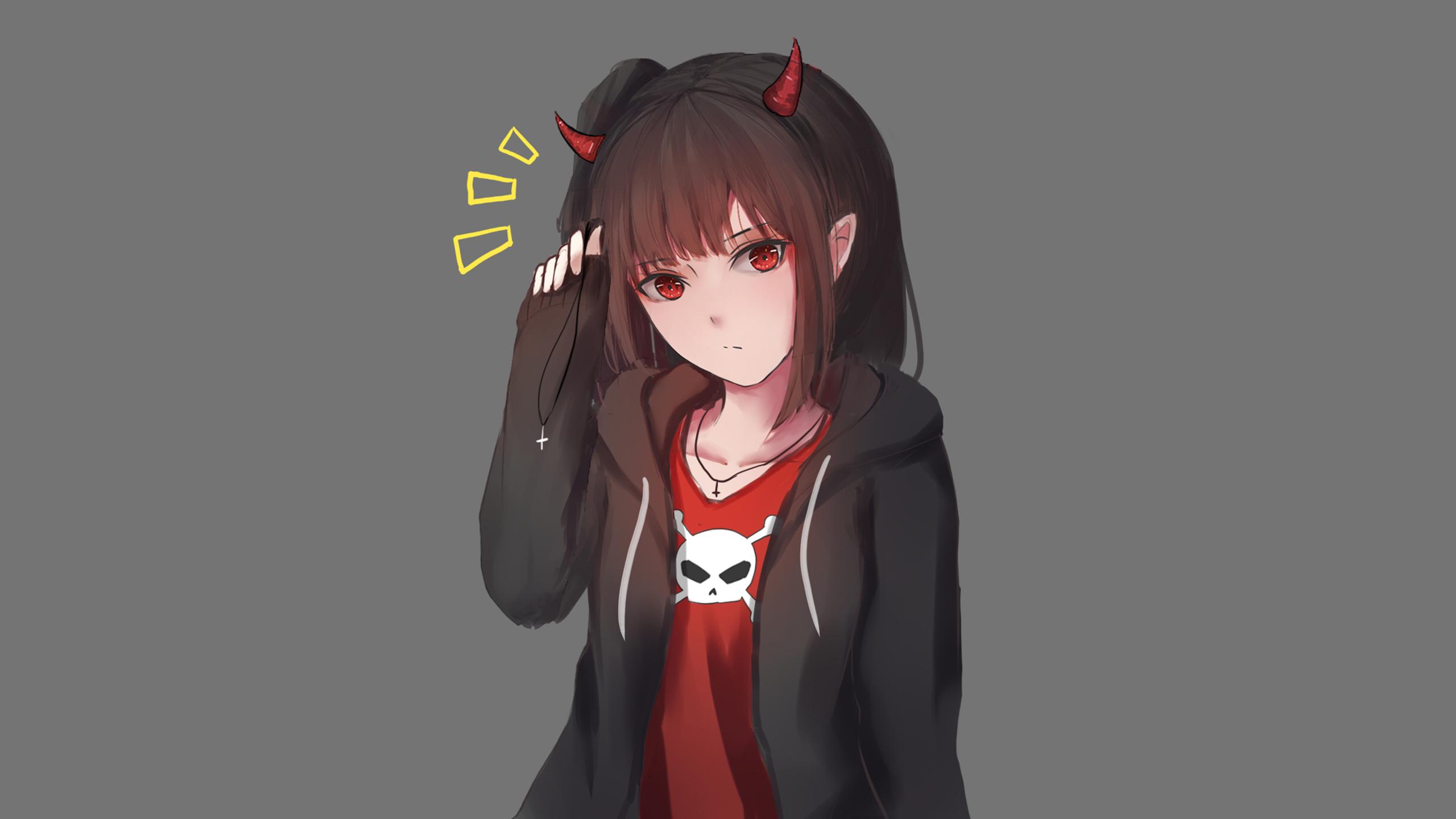 Anime Girl Hd Wallpaper Background Image 2560x1440 Id 936642