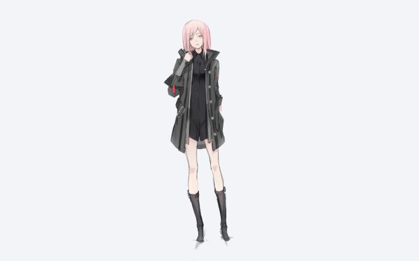 Anime Original Pink Hair HD Wallpaper   Background Image