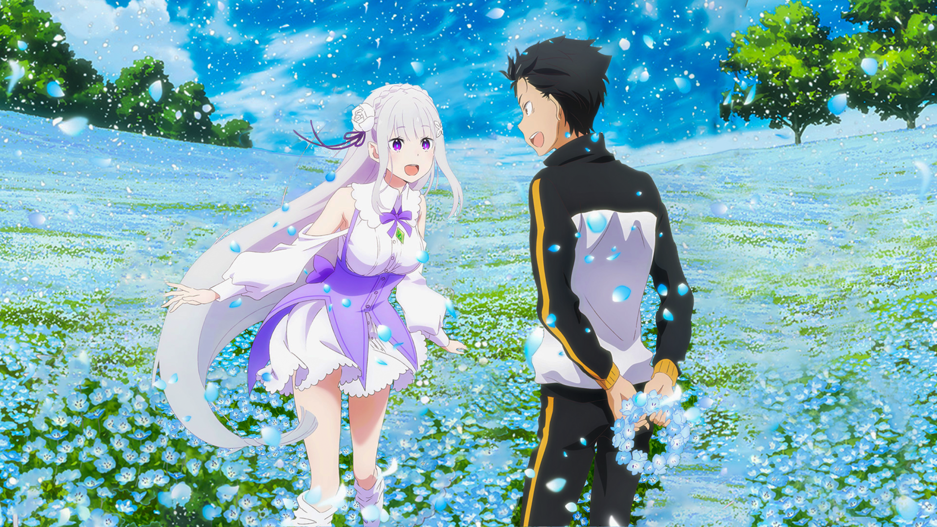 4 Re Zero Starting Life In Another World Memory Snow Hd Wallpapers Background Images Wallpaper Abyss
