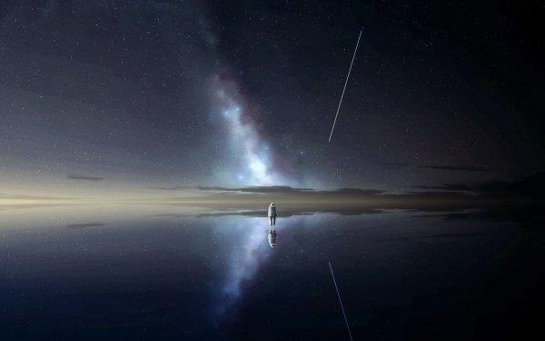 Sci Fi Astronaut HD Wallpaper | Background Image