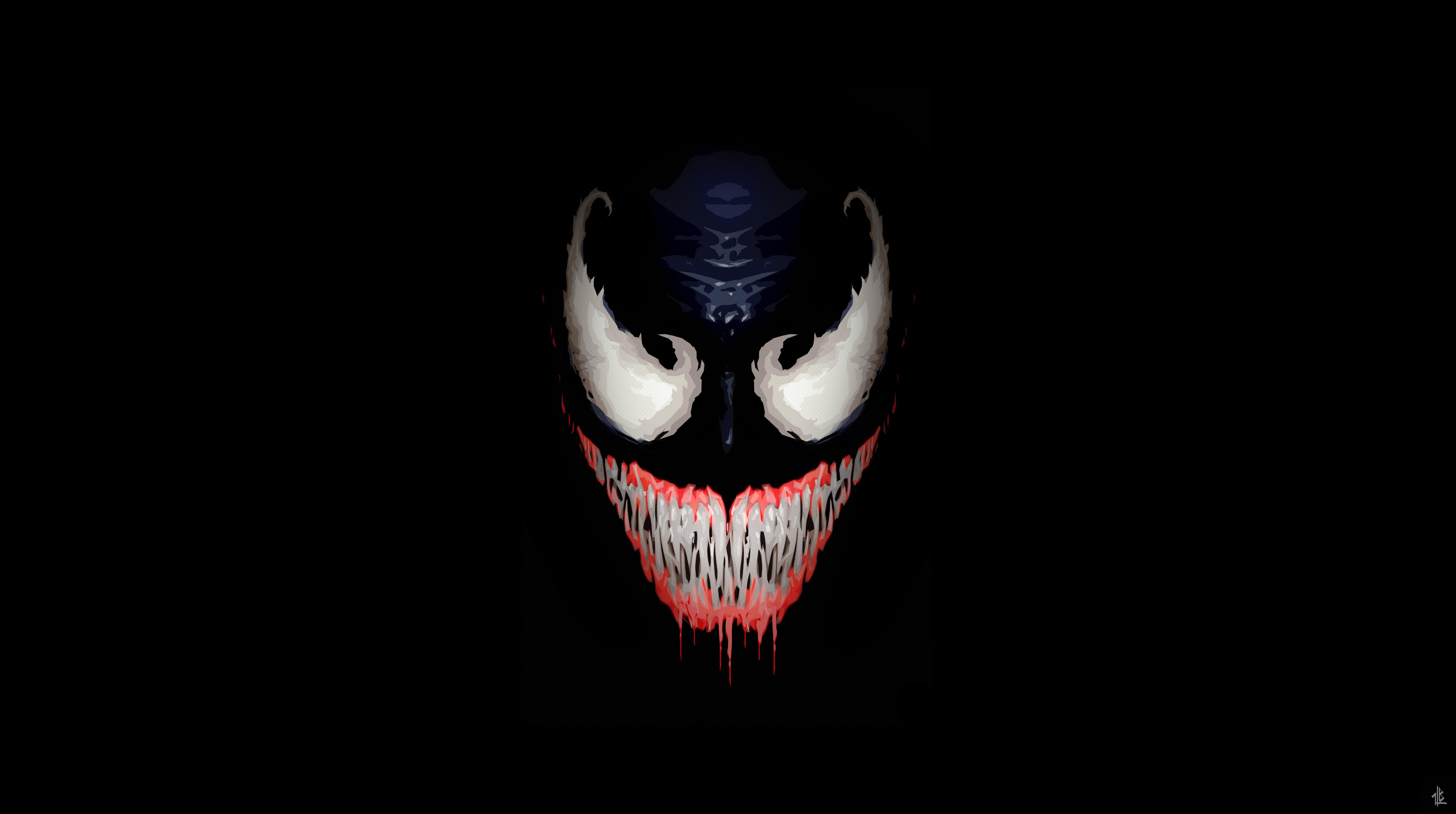 Venom 5k Retina Ultra Hd Wallpaper Hintergrund 6800x3800