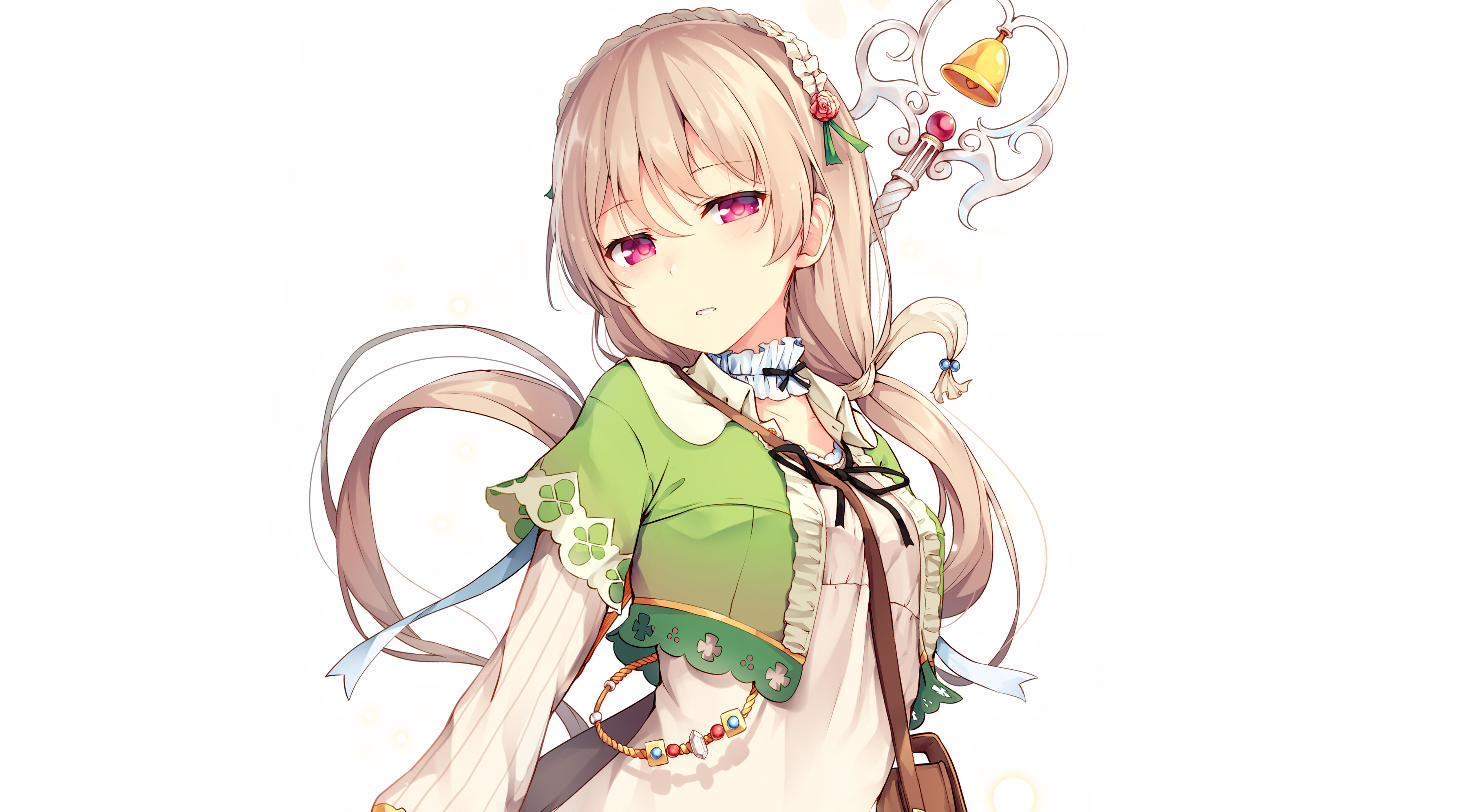Anime Girl 4k Ultra Hd Wallpaper Background Image 5120x2805