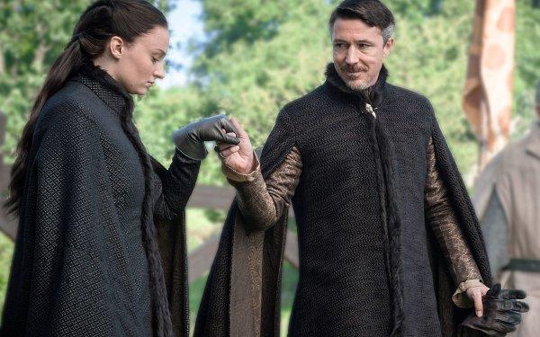 TV Show Game Of Thrones Sansa Stark Petyr Baelish Sophie Turner Aidan Gillen HD Wallpaper | Background Image