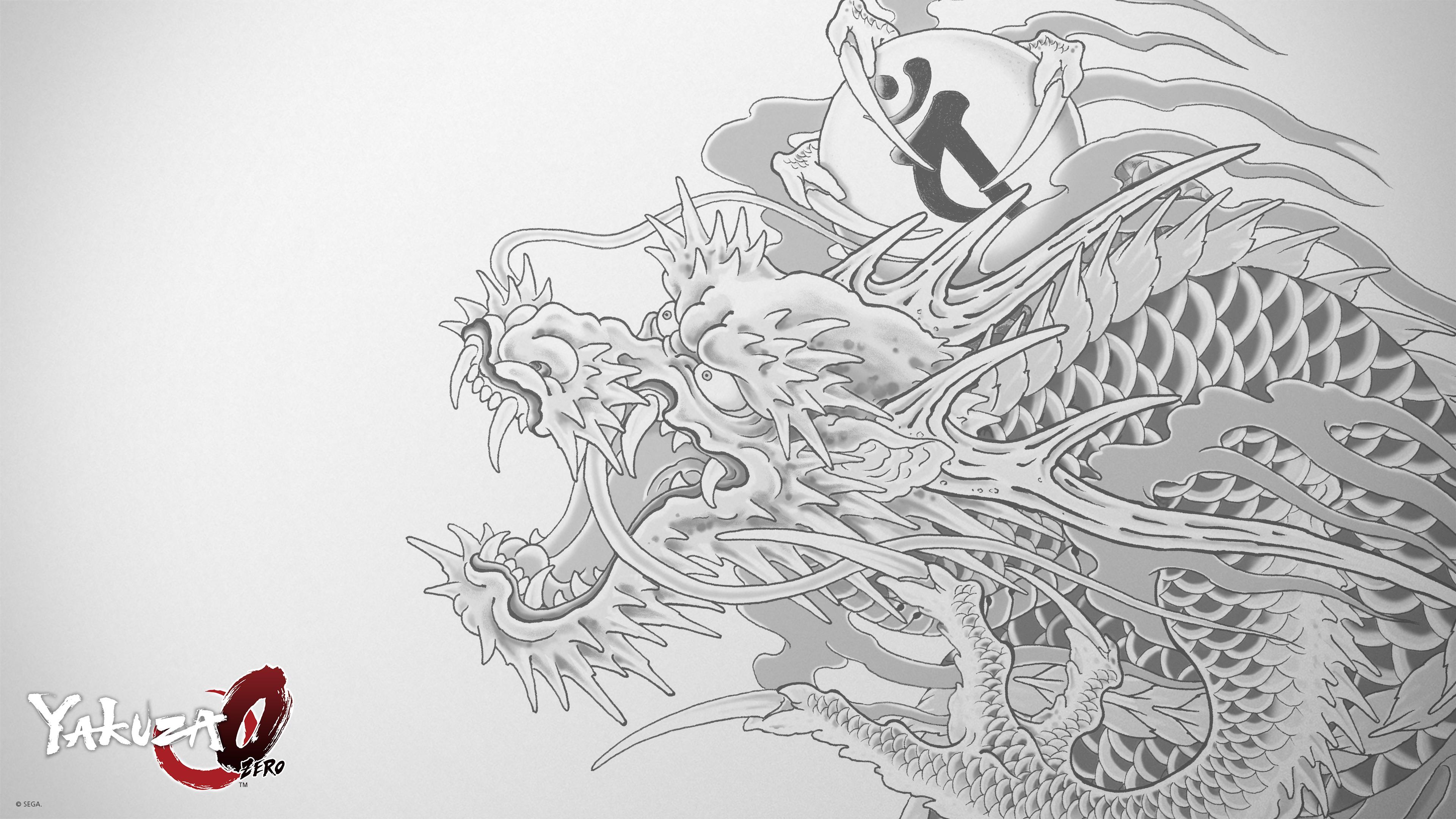 Yakuza 0 Tattoo 4k Ultra Fondo De Pantalla Hd Fondo De