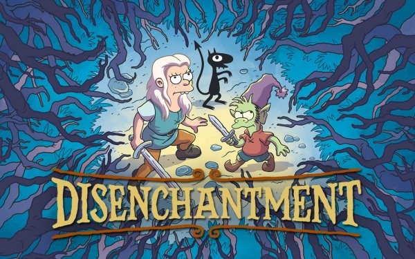 TV Show Disenchantment Bean Elfo Luci HD Wallpaper | Background Image