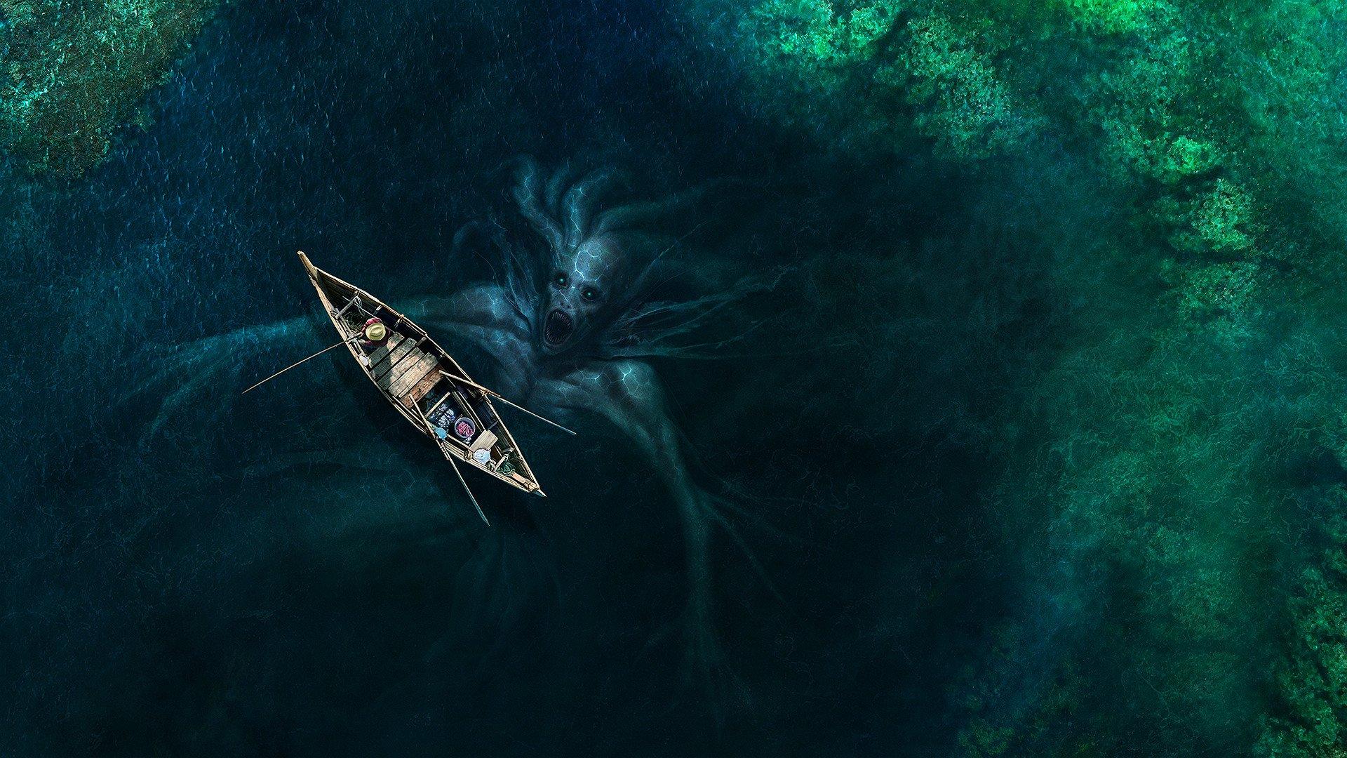 Monstruo De Mar Fondo De Pantalla Hd Fondo De Escritorio