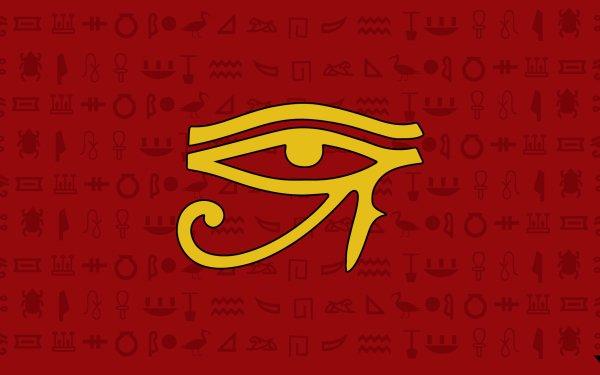 Fantaisie Eye of Horus Egyptian Fond d'écran HD | Image