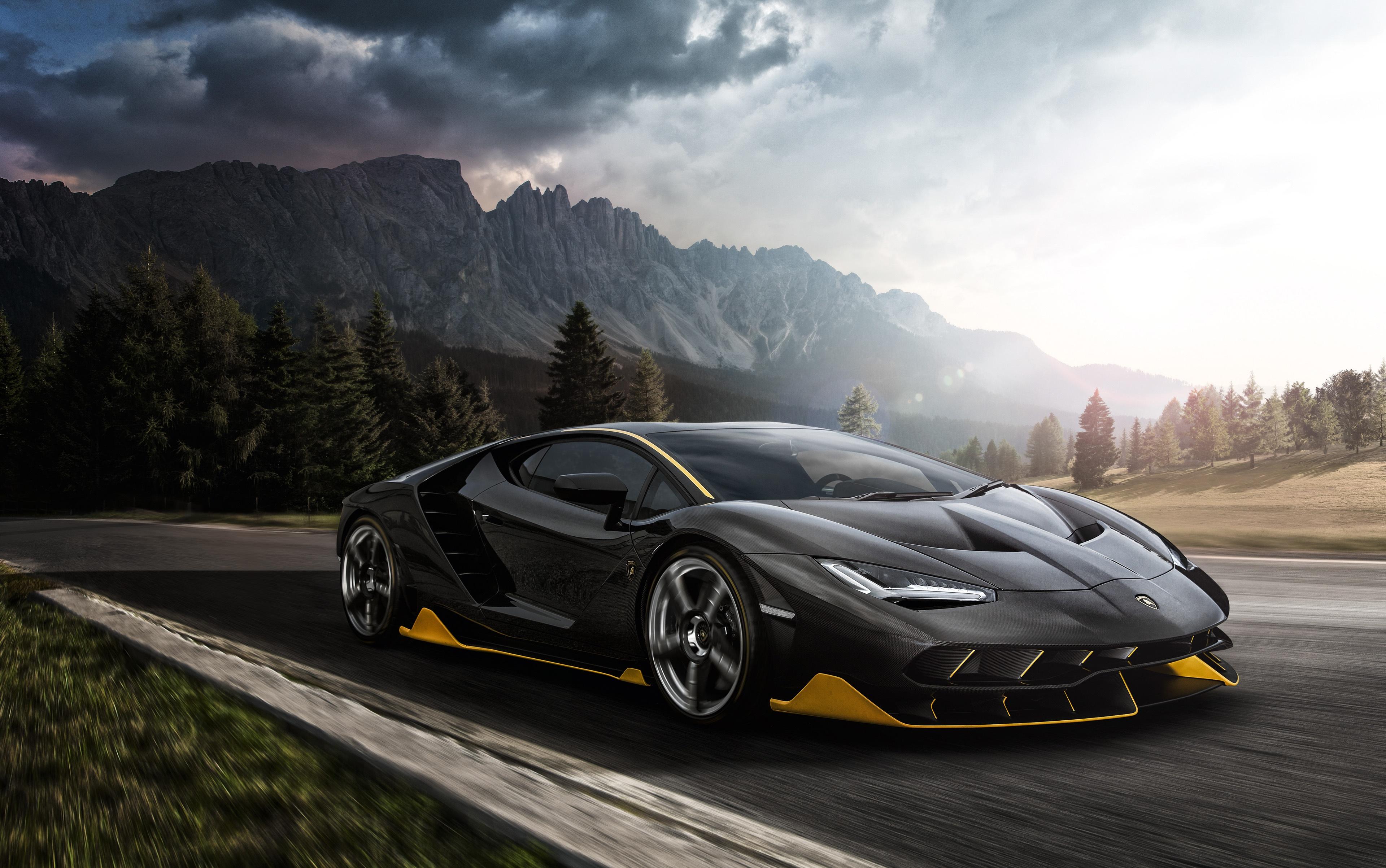 Lamborghini Centenario 4k Ultra Hd Wallpaper Background Image