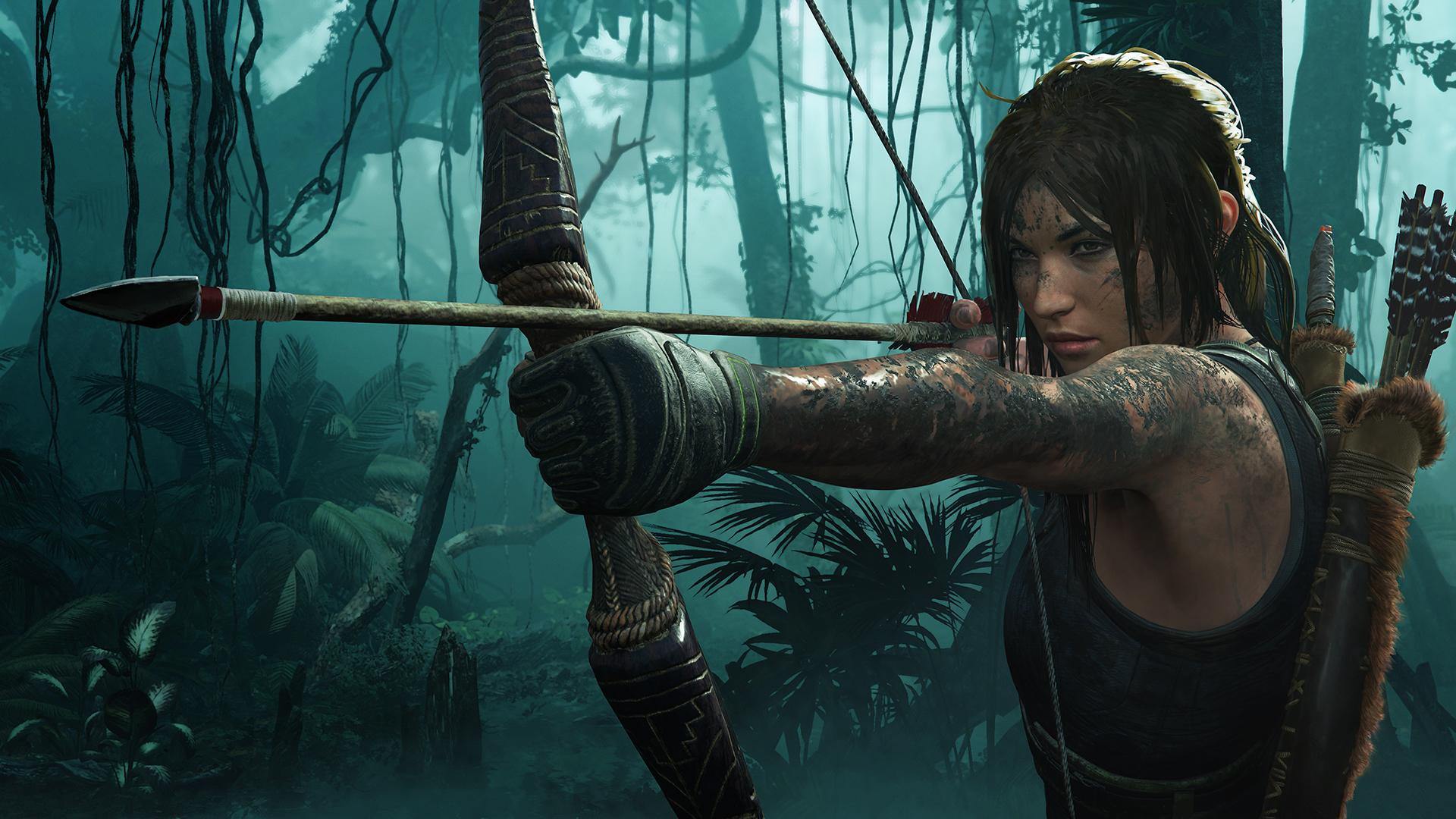 Shadow Of The Tomb Raider Lara Croft Key Art Hd Wallpaper