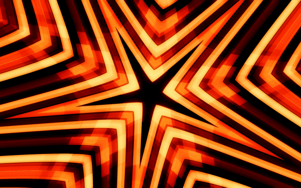 Abstract Artistic Kaleidoscope Star HD Wallpaper | Background Image