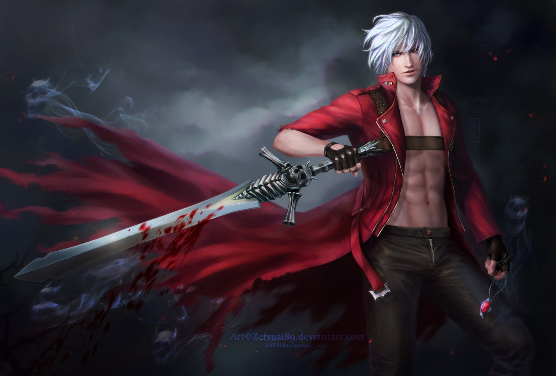 Devil May Cry 3 Dante S Awakening Hd Wallpaper Background Image
