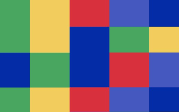 Abstract Geometry Shapes Colorful Square Rectangle HD Wallpaper | Background Image