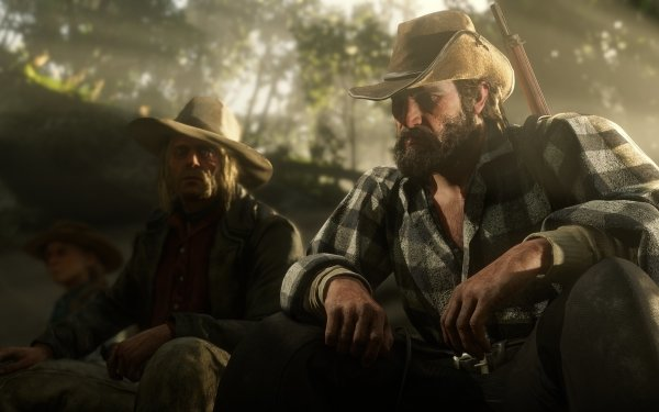 Video Game Red Dead Redemption 2 Red Dead Micah Bell Bill Williamson HD Wallpaper | Background Image