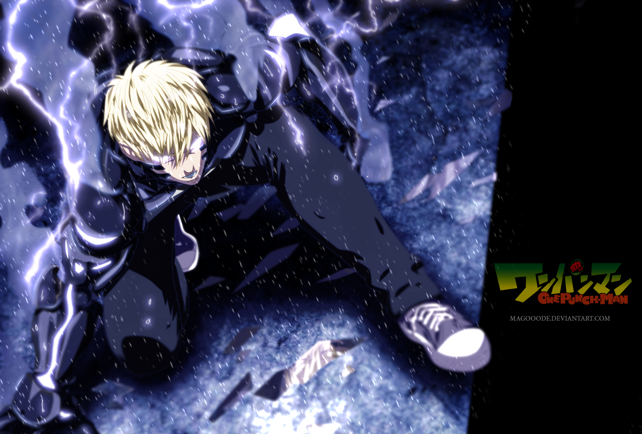 One Punch Man Hd Wallpaper Background Image 2100x1420 Id