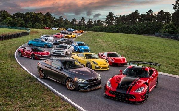 Véhicules Voiture McLaren Ford Porsche Dodge Ferrari Sport Car Acura Supercar Audi BMW Jaguar Cars Lexus Fond d'écran HD | Arrière-Plan