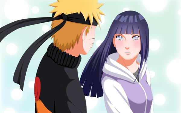 Anime Naruto Naruto Uzumaki Hinata Hyuga HD Wallpaper   Background Image
