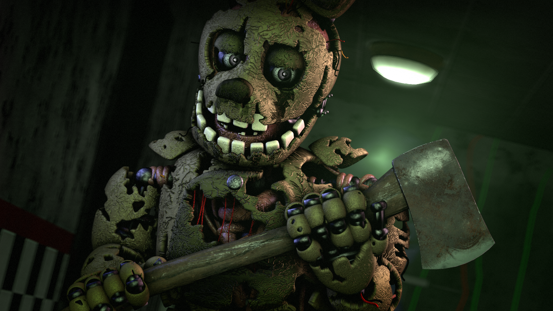 Five Nights at Freddy's 3 HD Wallpaper | Background Image