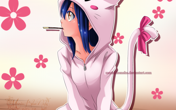 Anime Fairy Tail Wendy Marvell HD Wallpaper | Background Image