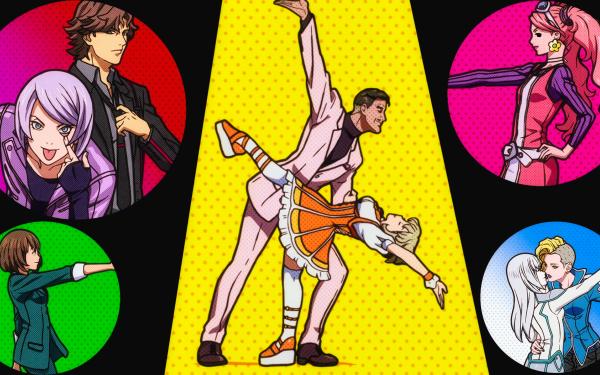 Anime Double Decker! Doug & Kirill Deana del Rio Maxine Silverstone Yuri Fujishiro Douglas Bilingam Kirill Vrubel Sophie Gainsbourg Travis Murphy Katherine Rochefort Fondo de pantalla HD   Fondo de Escritorio