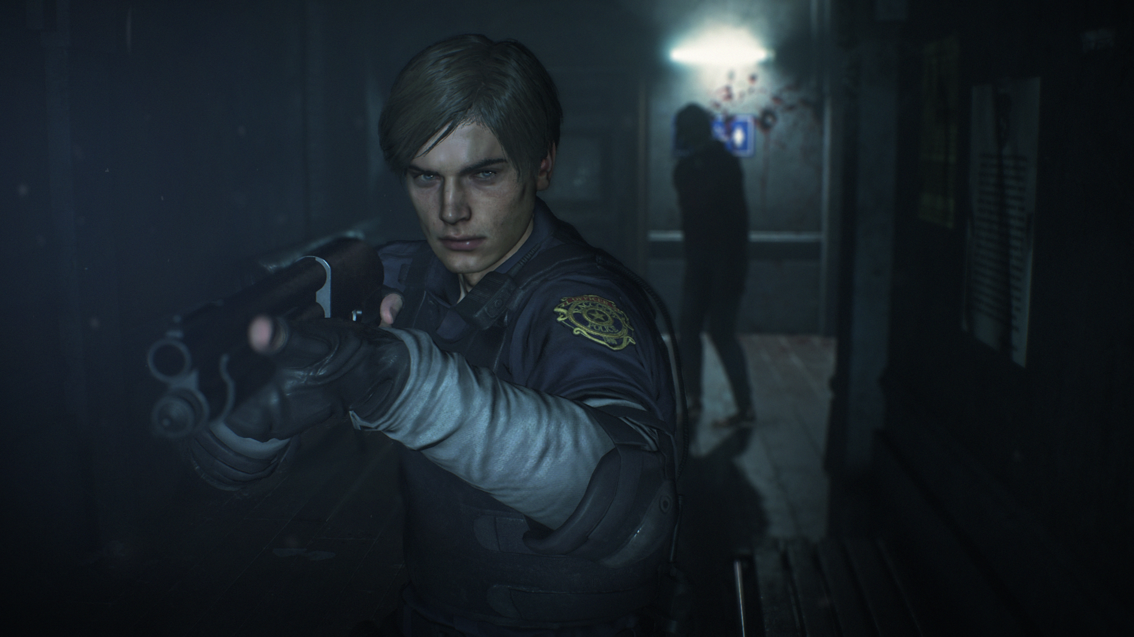 Resident Evil 2 2019 Leon 4k Ultra Hd Wallpaper