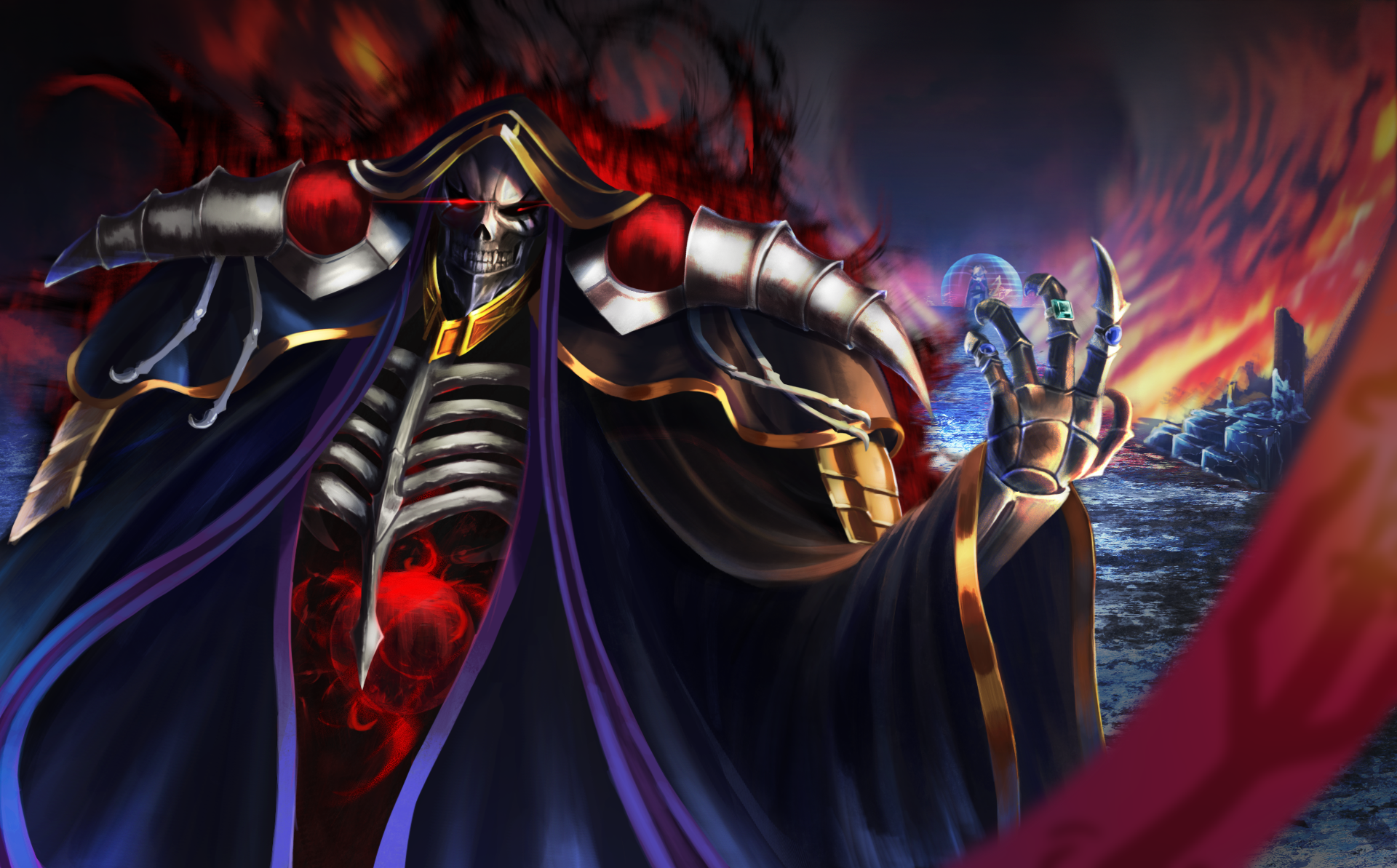 Overlord Hd Wallpaper Background Image 1920x1193 Id 955519 Wallpaper Abyss