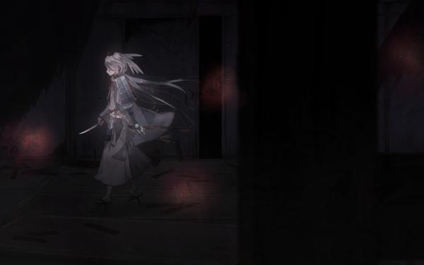 Anime Touken Ranbu Imanotsurugi HD Wallpaper | Background Image