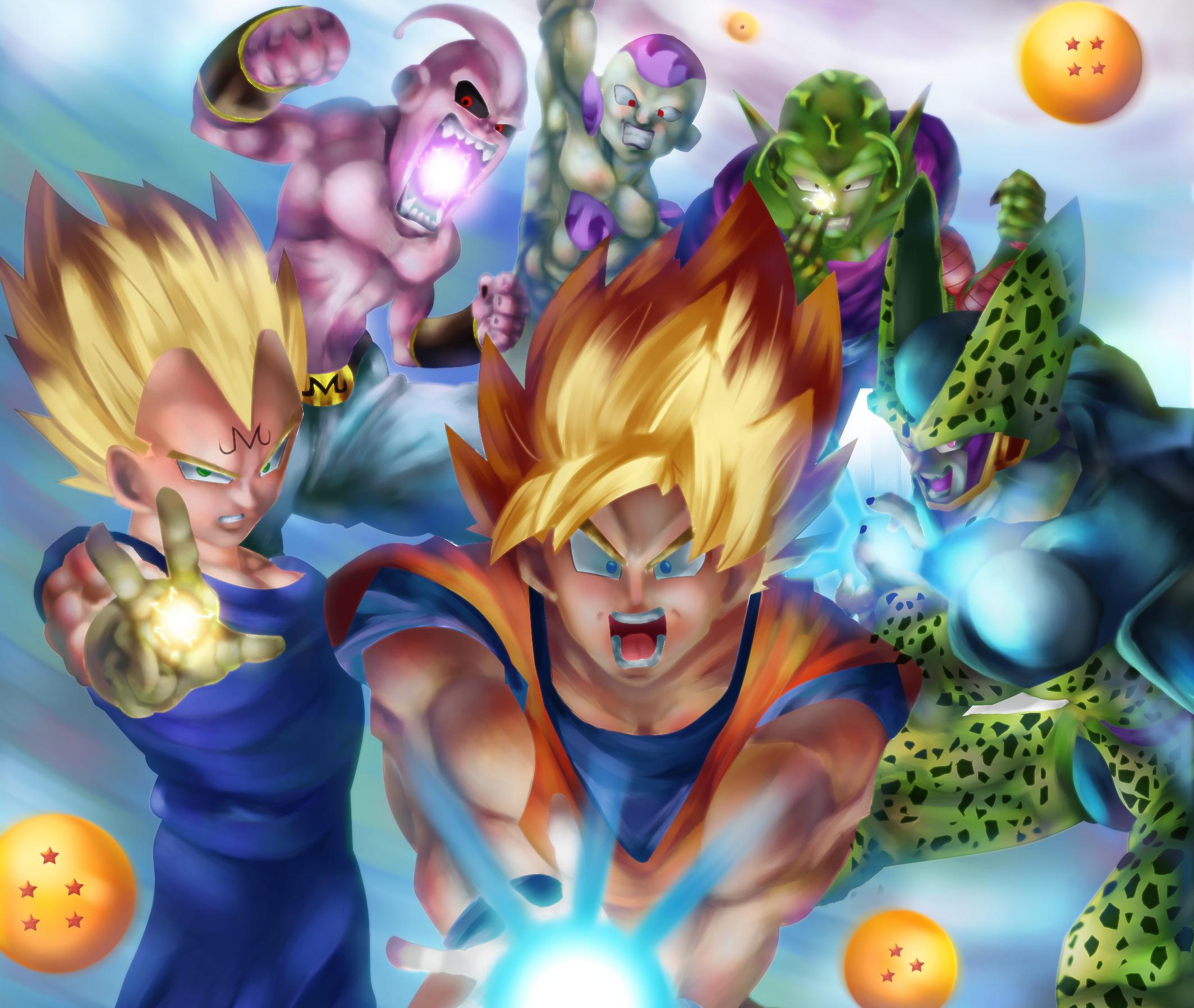 Dragon Ball Z Fond d'écran HD | Arrière-Plan | 2128x1796 | ID:957421 - Wallpaper Abyss