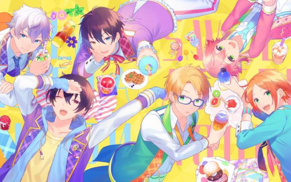 Video Game Ensemble Stars Yuta Aoi Tori Himemiya Mika Kagehira Ritsu Sakuma Izumi Sena Makoto Yuuki HD Wallpaper | Background Image