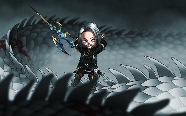 Video Game Final Fantasy XIV: A Realm Reborn Final Fantasy Lalafell HD Wallpaper | Background Image