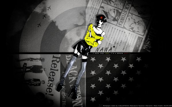 Anime Nana Nana Osaki HD Wallpaper   Background Image