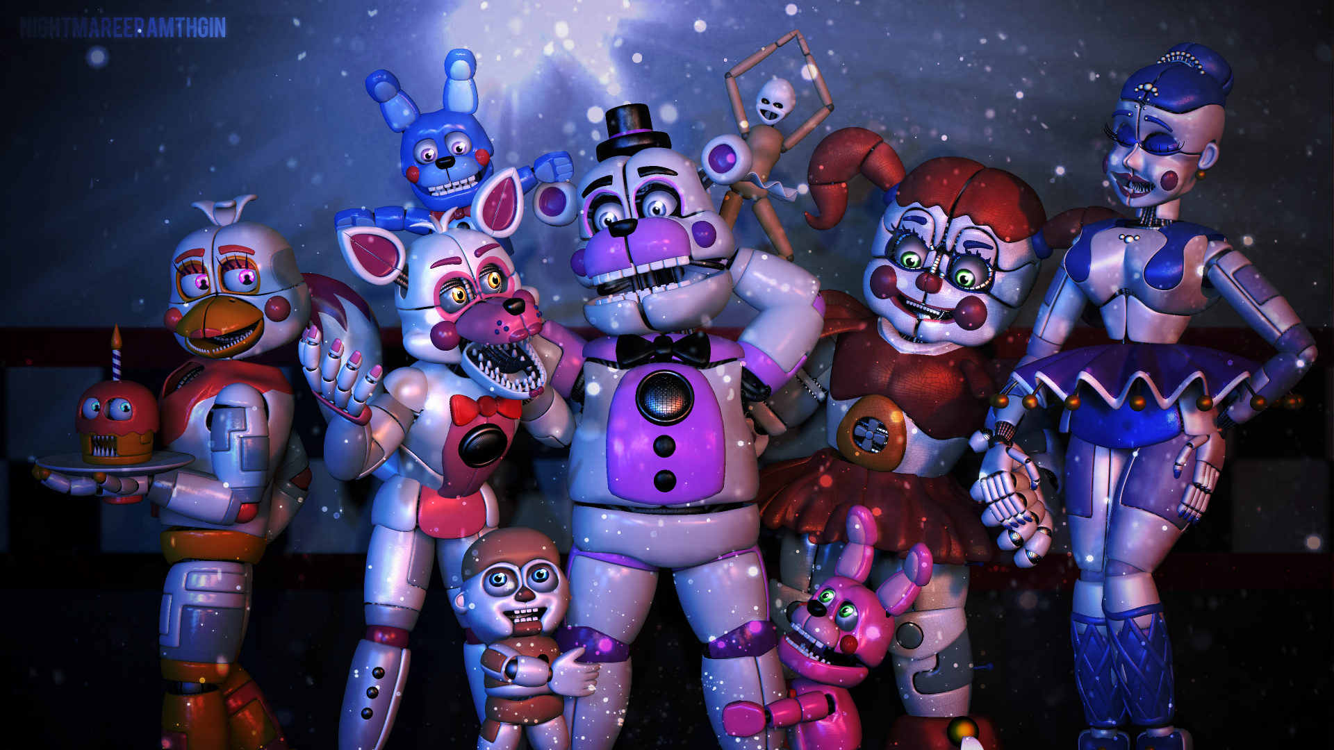 192 Five Nights At Freddy S Sister Location Hd Wallpapers