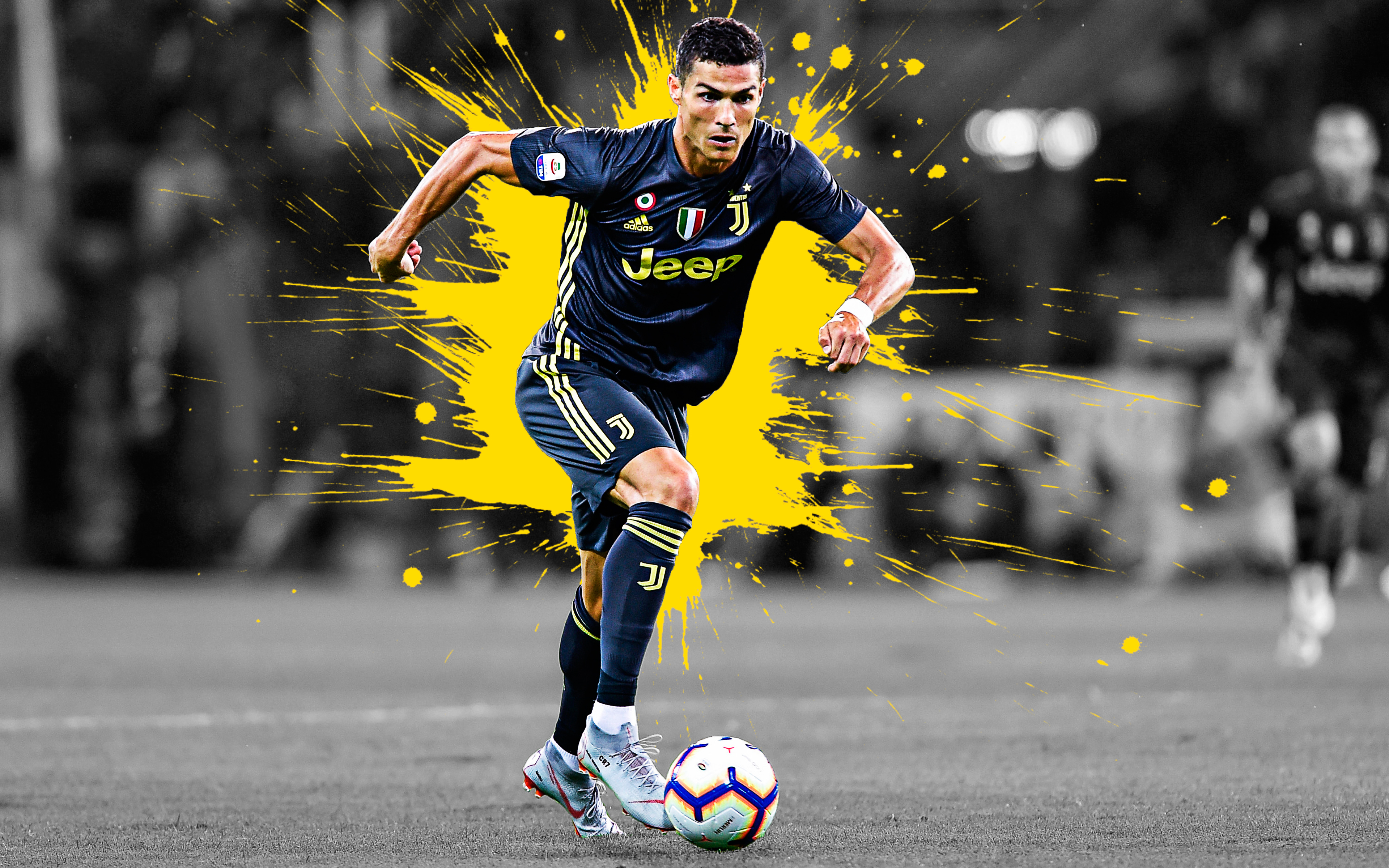 Cristiano Ronaldo Juventus 4k Ultra Hd Wallpaper Background Image 3840x2400 Id 961847 Wallpaper Abyss