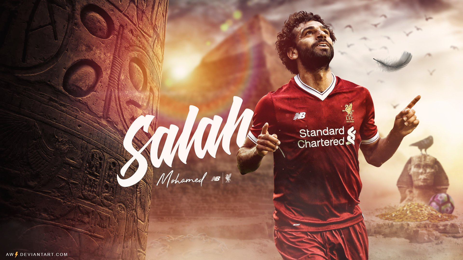 Mohamed Salah - Liverpool HD Wallpaper
