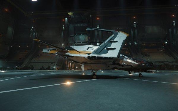Video Game Star Citizen Mustang Hangar HD Wallpaper | Background Image