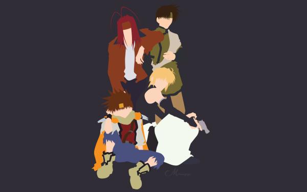 Anime Saiyuki Goku Genjo Sanzo Cho Hakkai Sha Gojyo Fondo de pantalla HD   Fondo de Escritorio