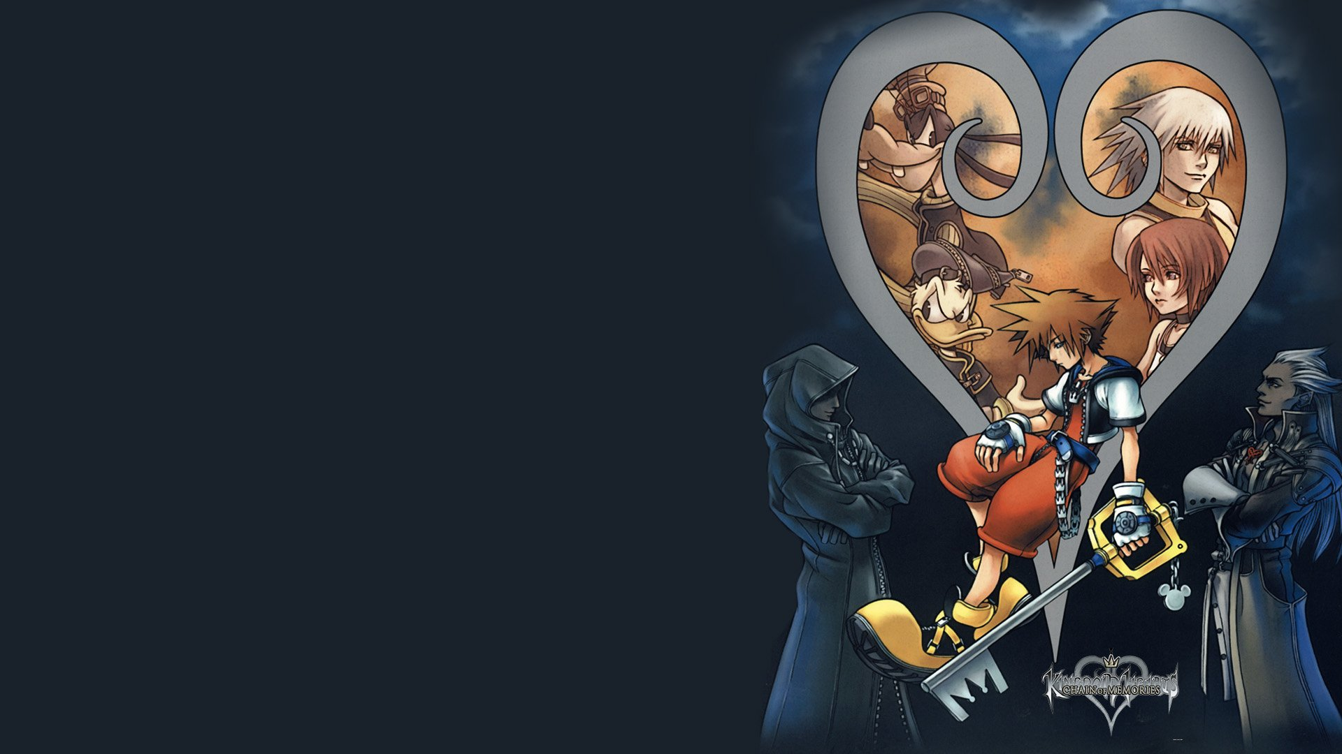Kingdom Hearts Chain Of Memories Hd Wallpaper Background Image
