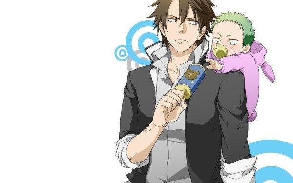Anime Beelzebub Tatsumi Oga Baby Beel Fond d'écran HD | Arrière-Plan