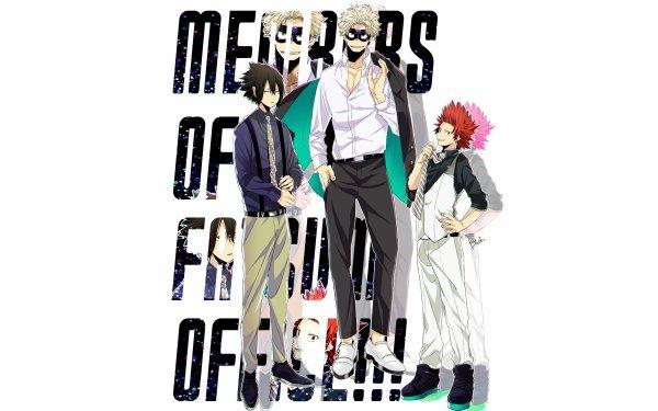 Anime My Hero Academia Eijiro Kirishima Katsuki Bakugou Tamaki Amajiki Taishiro Toyomitsu HD Wallpaper | Background Image