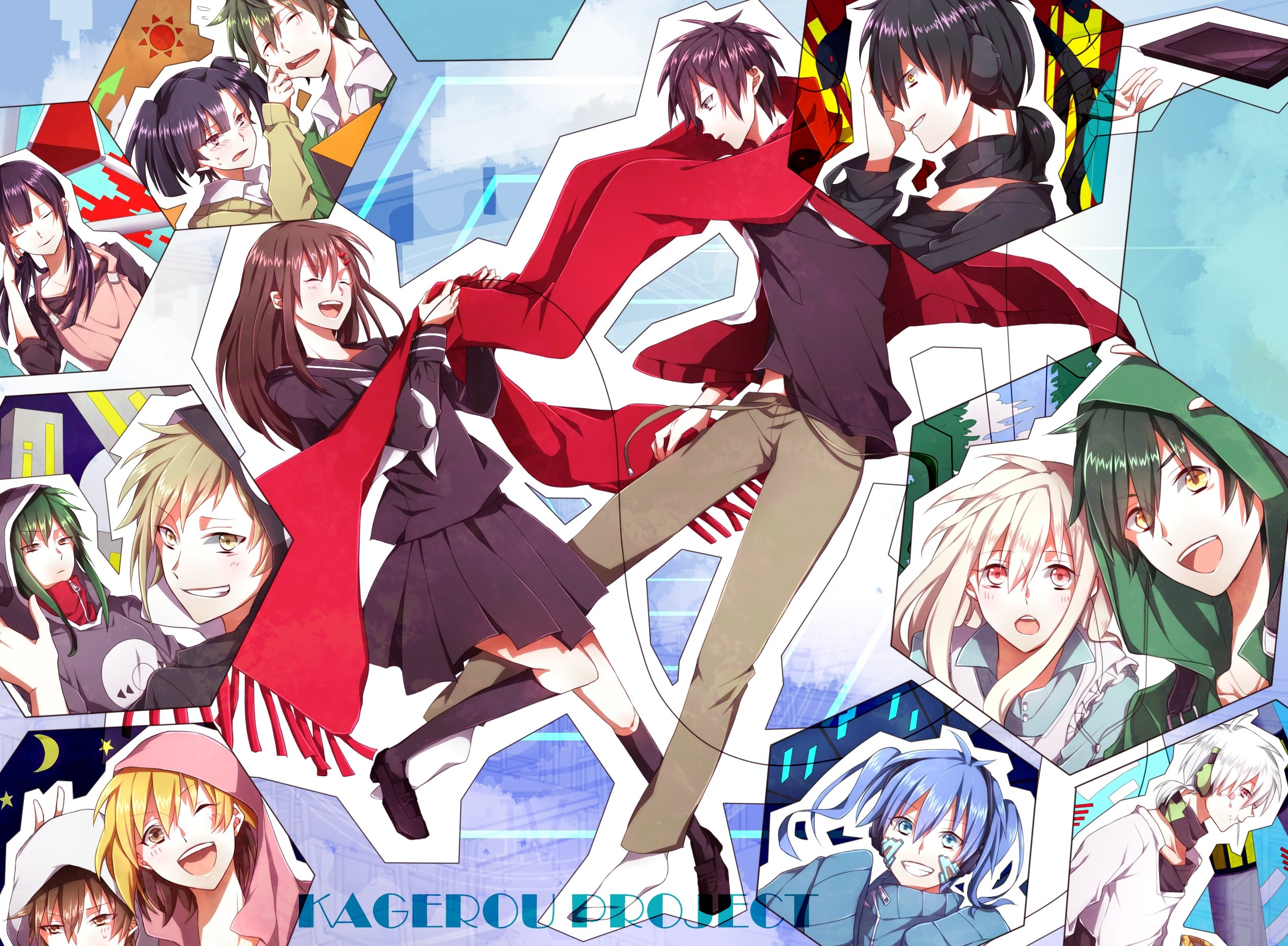 Kagerou Project Hd Wallpaper Background Image 2520x1850 Id