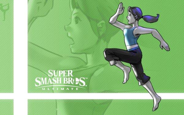Jeux Vidéo Super Smash Bros. Ultimate Wii Fit Trainer Fond d'écran HD | Arrière-Plan
