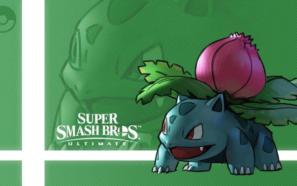 Video Game Super Smash Bros. Ultimate Ivysaur HD Wallpaper | Background Image