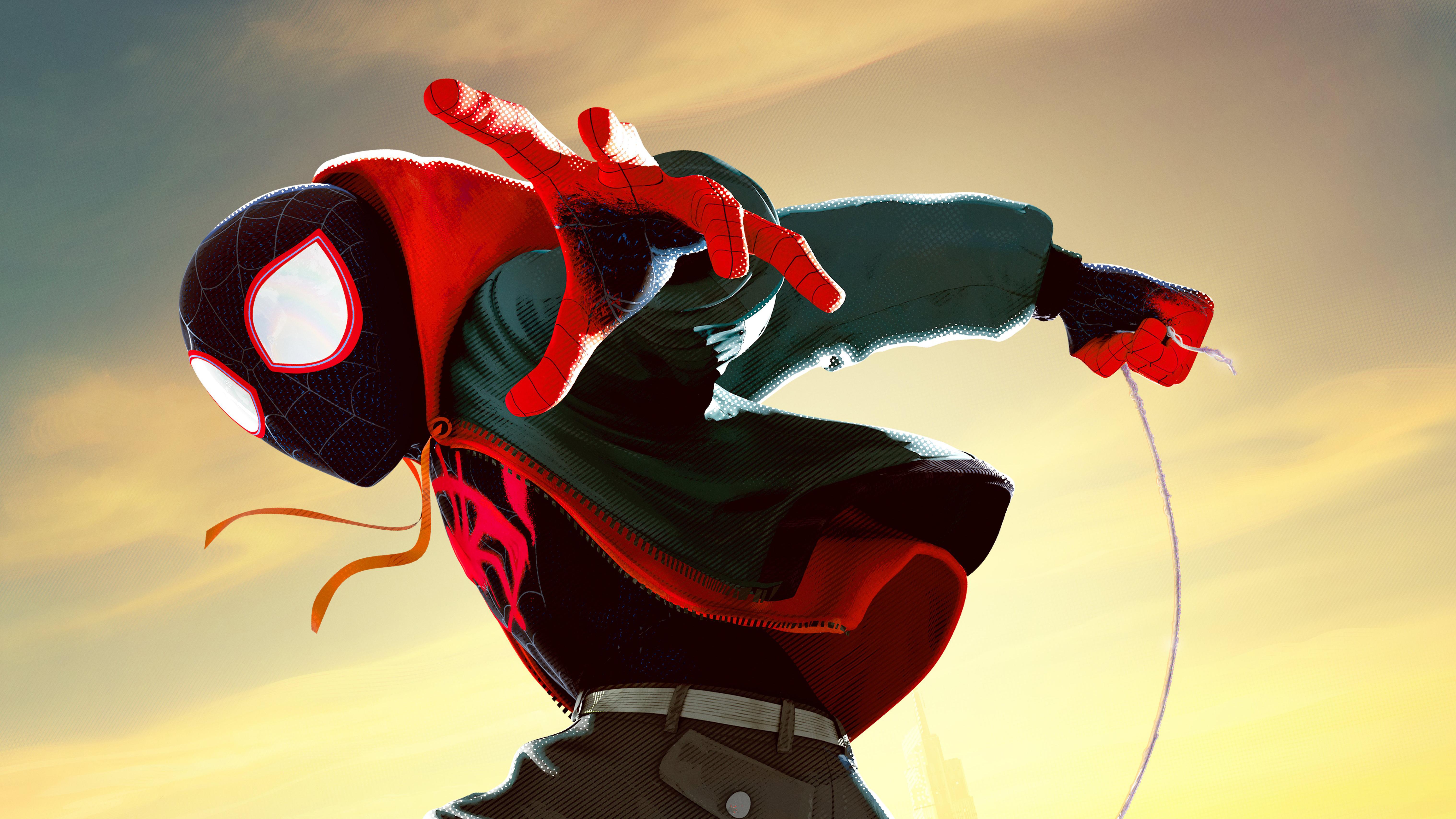 Spider Man Into The Spider Verse 5k Retina Ultra Hd Wallpaper