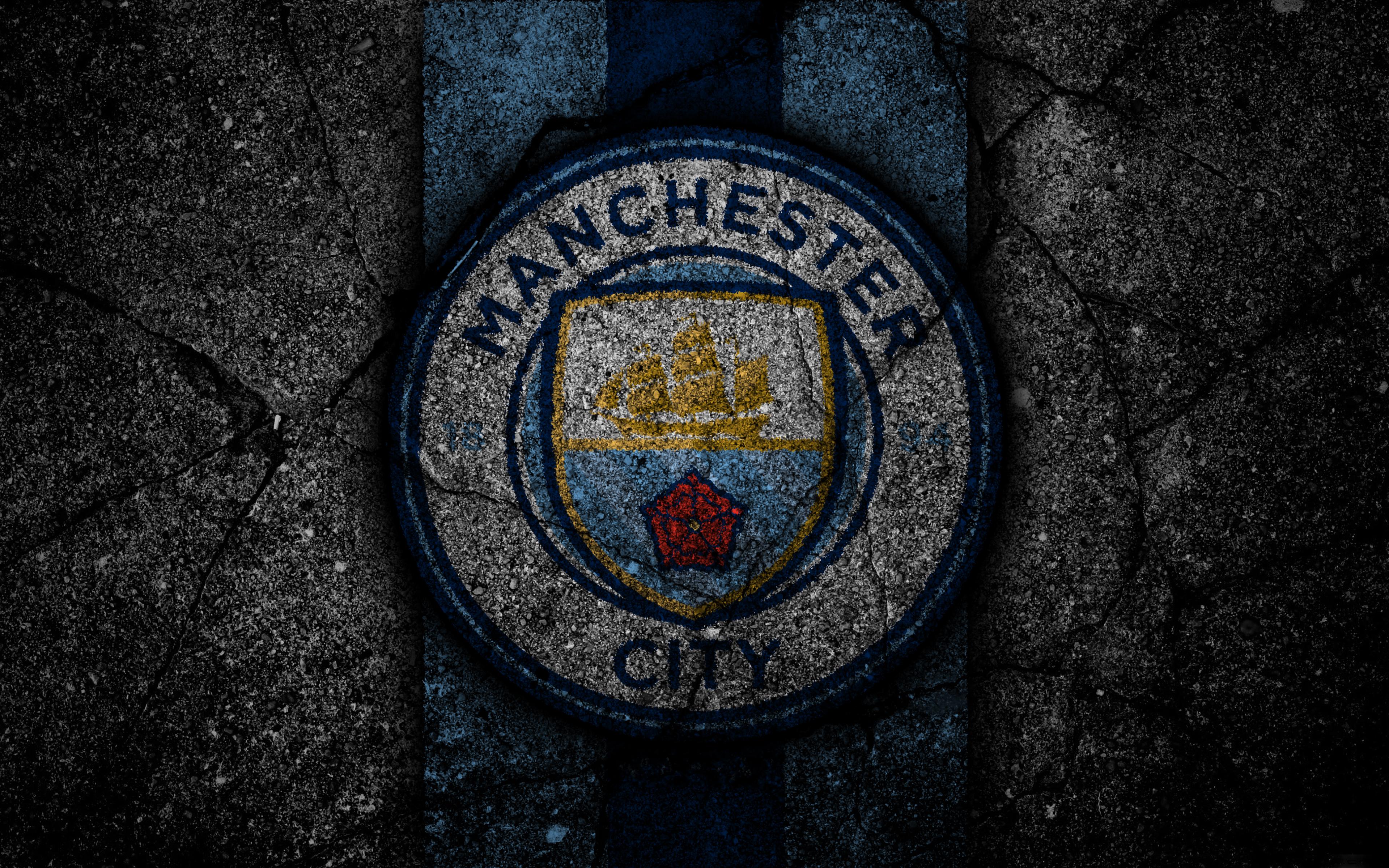 Manchester City Logo 4k Ultra Hd Wallpaper Background Image 3840x2400